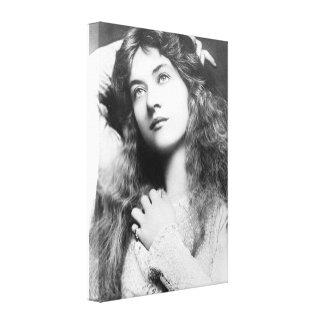 Actriz Maude Fealy Lona Envuelta Para Galerias