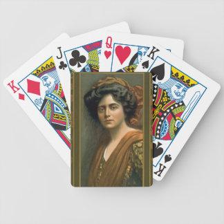 Actriz Maxine Elliott 1905 Baraja Cartas De Poker