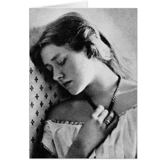 Actriz shakesperiana del 1864 de dama Ellen Terr Felicitaciones