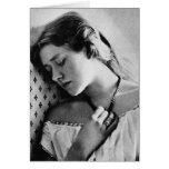 Actriz shakesperiana del ~ 1864 de dama Ellen Terr Felicitacion