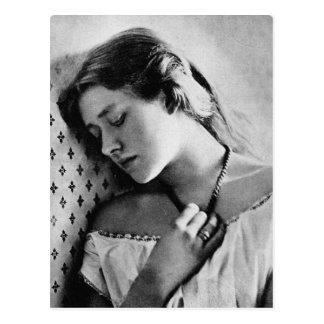 Actriz shakesperiana del 1864 de dama Ellen Terr Tarjeta Postal