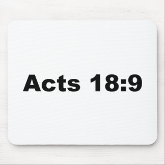 Acts 18:9 mouse pad
