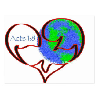 Acts 1:8 postcard