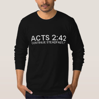 ACTS 2:42 T-Shirt