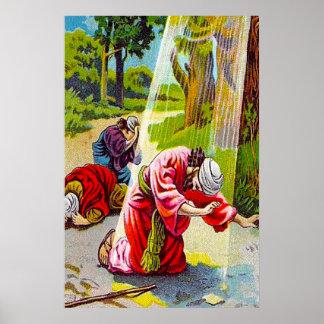 Acts 9:1-7 Saul (Paul) Meets Jesus poster