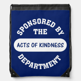 Acts of Kindness Backpack
