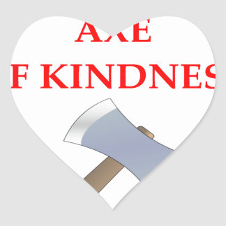 acts of kindness heart sticker