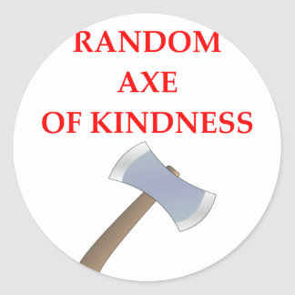 acts of kindness classic round sticker