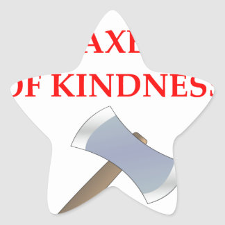 acts of kindness star sticker