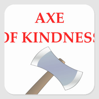 acts of kindness square sticker
