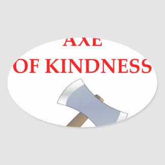 acts of kindness oval sticker