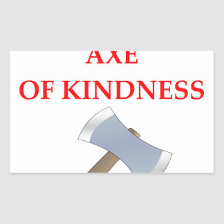 acts of kindness rectangular sticker