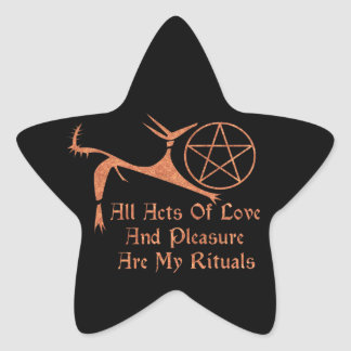 Acts Of Love And Pleasure Star Stickers