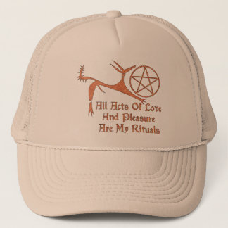 Acts Of Love And Pleasure Trucker Hat