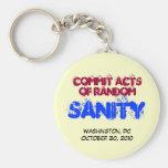 Acts of Random SANITY Keychain