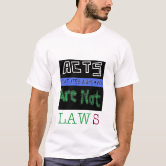 ACTS • STATUTES • BYLAWS TEE