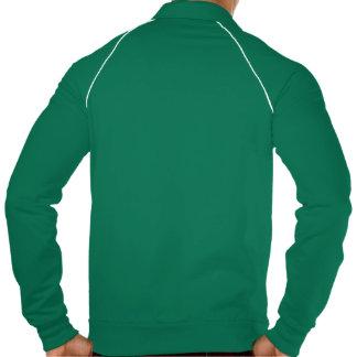 ACTT Training Men's Green Zip Up Printed Jackets