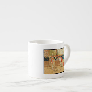 Actuación y juegos taza espresso