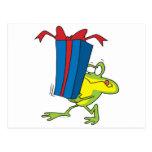 actual dibujo animado de donante divertido del ani tarjeta postal
