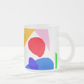 Actual tiempo del valor ningún acontecimiento de l taza cristal mate