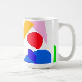 Actual tiempo del valor ningún acontecimiento de l taza básica blanca