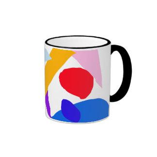 Actual tiempo del valor ningún acontecimiento de taza de dos colores