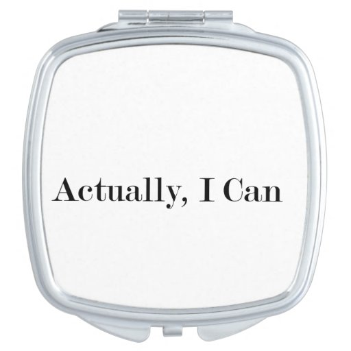 Actually i can vanity mirror zazzle for Mirror in a can