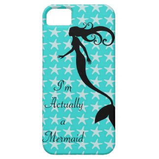 Actually, I'm a mermaid iPhone SE/5/5s Case