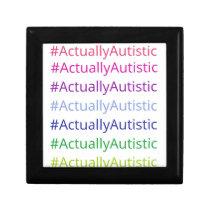 #ActuallyAutistic Gift Box