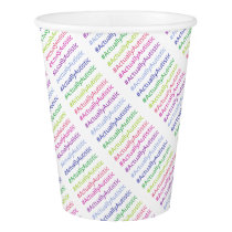 #ActuallyAutistic Paper Cup