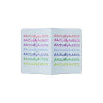 #ActuallyAutistic Passport Holder