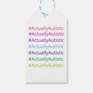 #ActuallyAutistic Tag