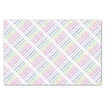 #ActuallyAutistic Tissue Paper