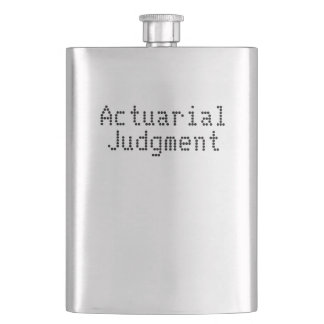 Actuarial Judgment in a Flask