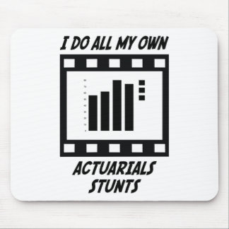 Actuarials Stunts Mouse Pad