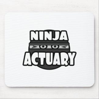 Actuario de Ninja Tapetes De Ratones
