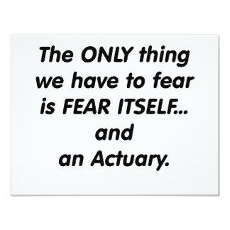 actuario del miedo comunicados personales