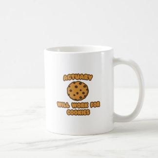 Actuario. Trabajará para las galletas Taza De Café