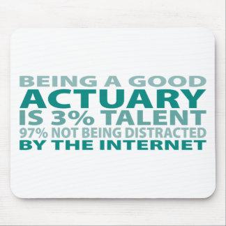 Actuary 3% Talent Mouse Mat