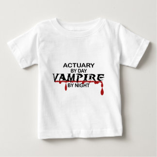 Actuary by Day, Vampire by Night Baby T-Shirt
