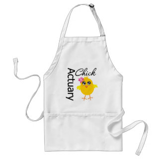 Actuary Chick Aprons