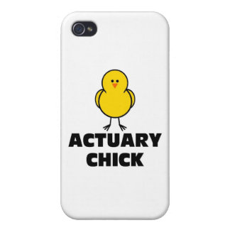 Actuary Chick iPhone 4/4S Cases