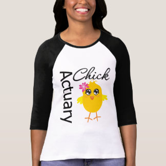 Actuary Chick T-Shirt