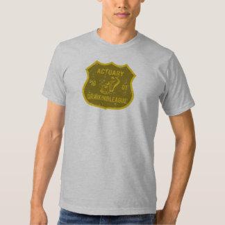Actuary Drinking League Shirt