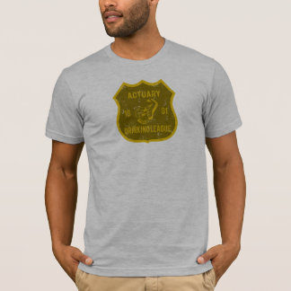Actuary Drinking League T-Shirt