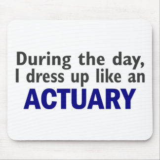 ACTUARY During The Day Mouse Pads
