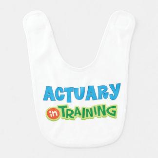 Actuary in Training Kids Shirt Bib
