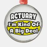 Actuary = Kind of a Big Deal Ornaments
