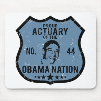 Actuary Obama Nation Mouse Mat