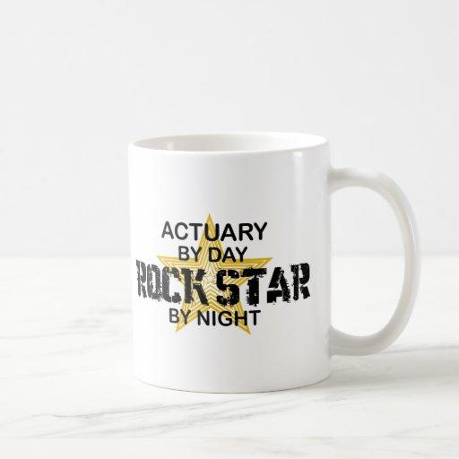 Actuary Rock Star by Night Mug